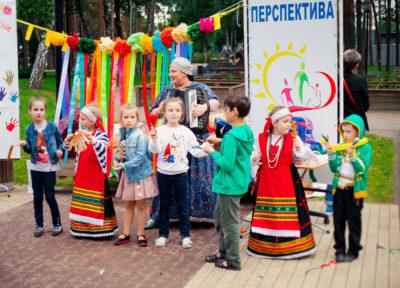 Инклюзивный фестиваль «Разноцветное детство»