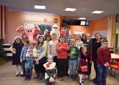 Новогодний мастер-класс по приготовлению пиццы от шефа Кафе-пиццерии PIZZAIOLI